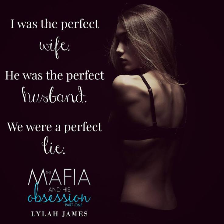 CoverReveal The Mafia and His Obsession: Part One by Lylah